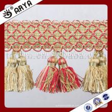 2016 Hot Wholesale Products Handcraft para Decoração Doméstica de Fralda de Tassel Duplo Handmade