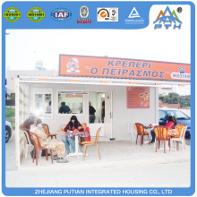 China prefabricated container coffee shop