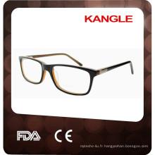 2017 Wholesale personnalisé cadre de lunettes par Wenzhou Fabricant