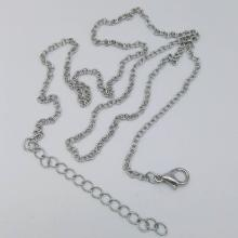 Love Pearl Necklace Cross Chain with 5CM Tail