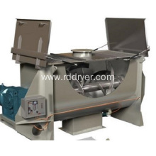 Mixer with Continuous Ribbon for Batch Mixing