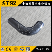 Pièces d'origine Komatsu PC300-7 tuyau 6743-11-4961
