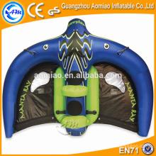 Deportes de agua remolcables inflables, manta ray volante del vuelo para la venta