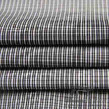 Wasser & Wind-resistent Outdoor Sportswear Daunenjacke Woven Plaid Jacquard 100% Polyester Schwarz Garn Filament Stoff (FJ019)
