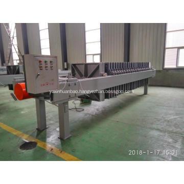 Stainless Steel Food Grade Cartridge Membrane Filter Press