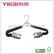EVA пена металлическая вешалка с клипами и ПВХ покрытием для юбки