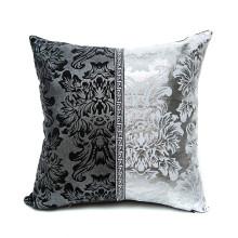 Metallic Throw Pillow Case Cushion Cover Pillowcase Home Sofa Decor Splicing Hot Silver Pillowcase