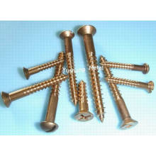 Silicon Bronze Wood Screw