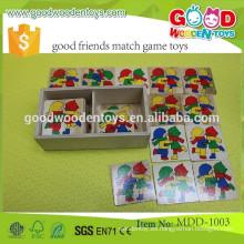 Adolescente mutante ninja tortugas memoria partido juego OEM aprendizaje viaje buenos amigos partido juego juguetes MDD-1003
