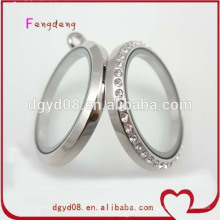 Stainless steel locket jewelry set manufacturer