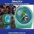 Relógio de presente de Natal, relógio de cabeceira para crianças