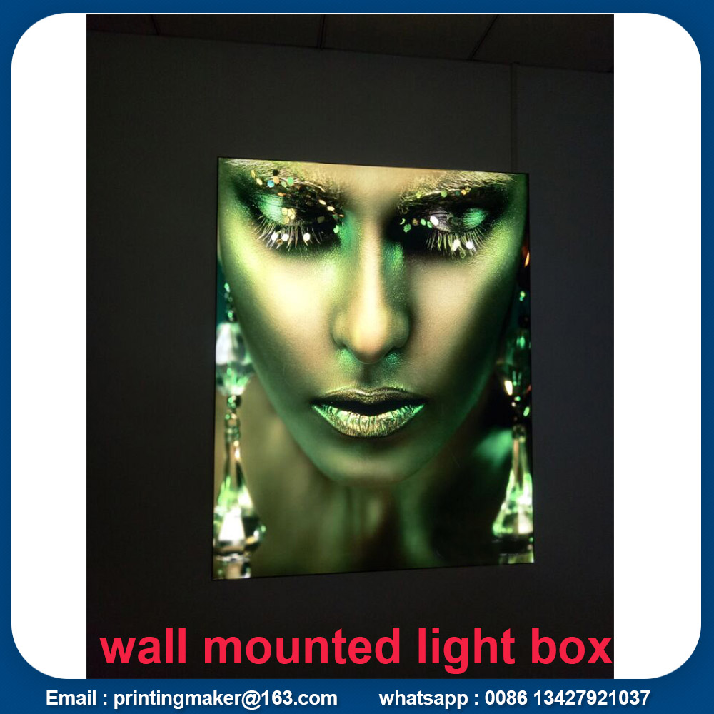 wall mounting light box