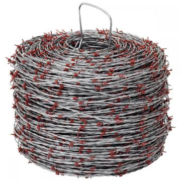 2.2x2.5mm Galvanized Barbed Wire