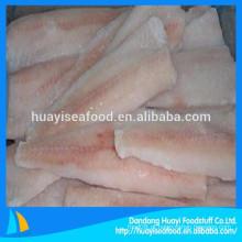 Todos os tipos de frutos do mar congelados bacalhau frango