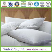 Preço de fábrica para baixo travesseiro branco pato para baixo travesseiro