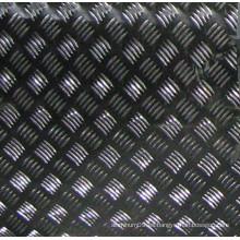 1060 bobina a cuadros de aluminio con 5 tiras