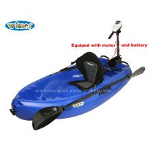 Vencedor Hot Selling Plastic Single Power Kayak