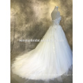 Neuer Entwurf nach Maß Guangzhou-Hochzeitskleidgeschäfte