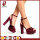 Waterproof high-heeled suede high heel shoes