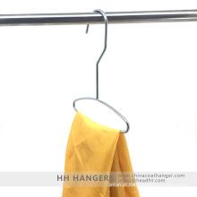 Metal cromado fio cachecol gravata pendurada Display