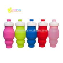 500ML Outdoor Sport Bottle Foldable Silicone Folding Water Bottle