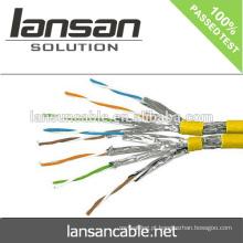 Cabo da rede do cat7 do teste do fluke da alta qualidade de LANSAN