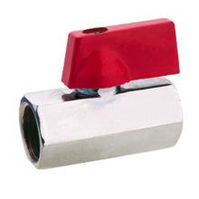 J2009 brass mini ball valve DN15 UPC NSF approved