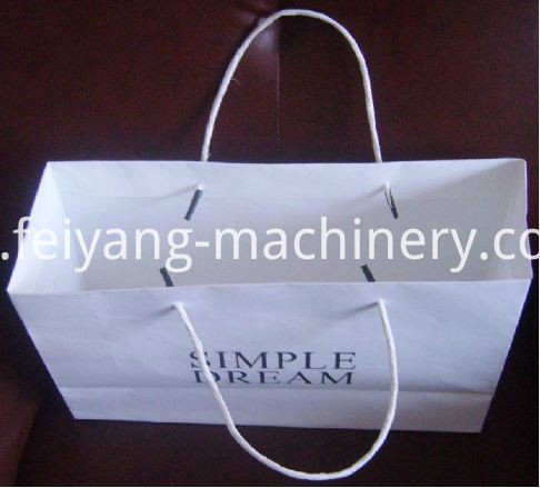 Semi auto Tipping Machine for paper bag