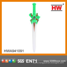 Funny 60CM Plastic flashing sword toy for kids led sword