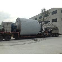 Centrifuge spray dryer of white carbon
