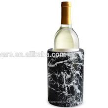 Refrigerador de vinho em mármore branco