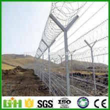 China Fábrica de suministro Galvanizado alambre de alambre de alambre, precio de alambre de púas de maquinilla de afeitar