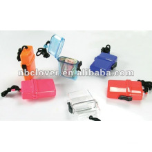 plastic waterproof beach box with strap