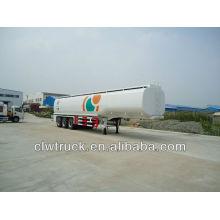 Remolque de aceite de 3 ejes, semirremolque de tanque de aceite (45000L)