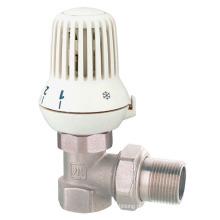 J3003 Válvula radiador de ângulo de latão