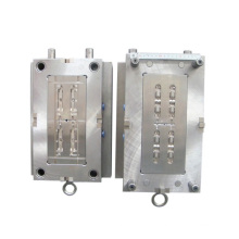 ID-6802 double color plastic mould with one shot mould