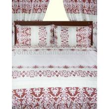 4pcs printed bed set