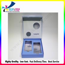 Luxuoso design cosmético set embalagem caixa de presente