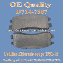 Pièces de frein D714 CADILLAC pour Eldorado coupe 1991- R