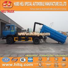 DONGFENG push-pull braço recheio caminhão 4X2 10 cbm 190hp melhor preço produção profissional venda quente
