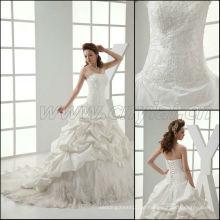 JJ3003 Neues echtes Beispiel Taft Ballkleid Hochzeitskleid