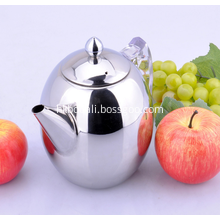 Stainless Steel Olive Tea Kettle