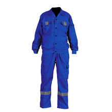 Europe Work Polycotton Reflective Coverall