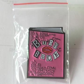 น่ารักเคลือบ Trendy Bury หนังสือเข็มกลัดเข็มกลัด