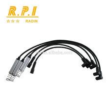 Câble d'allumage haute tension en silicone, SPARK PLUG WIRE POUR OPEL 1612539,1612479