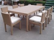 Outdoor Aluminium Bistro Dining Chairs Set