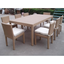 Bistrô de alumínio ao ar livre de jantar cadeiras conjunto