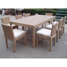 Открытый алюминий бистро, столовая стулья набор