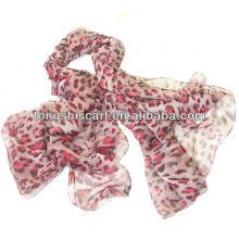 Mode billige Leopard Schal