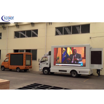 P5 Outdoor Waterdichte Truck LED TV Scherm / LED-paneel